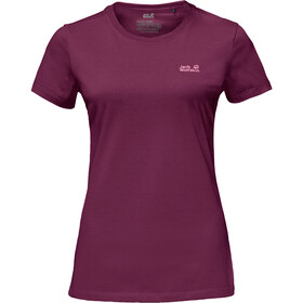 Jack Wolfskin Essential T-Shirt Damen wild berry